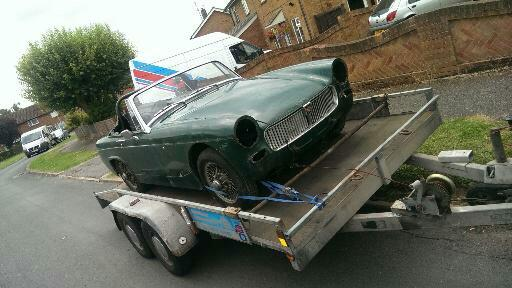 collecting the mg midget